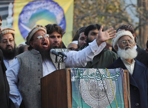 The power of the pulpit: Islamist parties, though never able to win a majority in parliament, have secured far greater influence than the number of their supporters justifies, preventing the development of a sustainable liberal democracy in the country. Photo: AFP