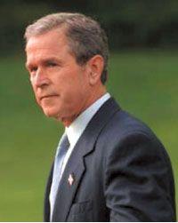 George W. Bush. Photograph: AFP