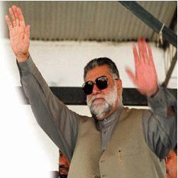 Mir Zafarullah Jamali. Photograph: AFP