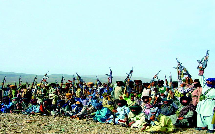 PAKISTAN-TRIBAL-BALOCHISTAN-ARMED-CAMP-AK47