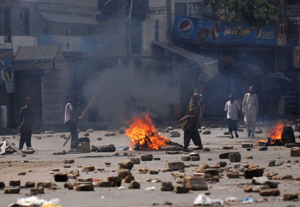 PAKISTAN-UNREST-POLITICS-CRIME