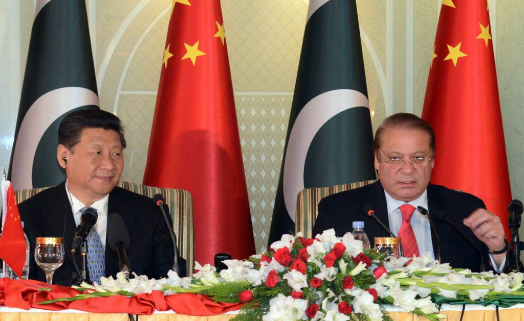PAKISTAN-CHINA-POLITICS-DIPLOMACY