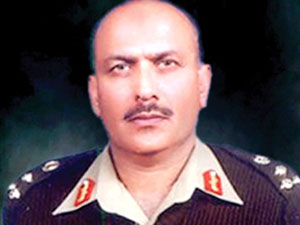 'Rogue' officer: Following a court martial, Brig Ali Khan and four other officers were sentenced to imprisonment on August 3, 2012