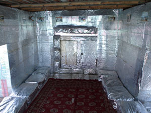 "Inside a ""Chandi Ghar"""