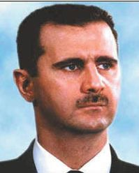 Bashar-al-Assad. Photograph: AFP