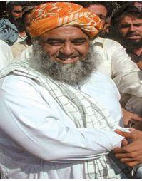 Maulana Fazlur Rehman. Photograph: AFP