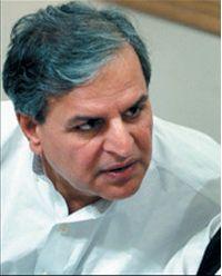 Javed Hashmi. Photograph: AFP