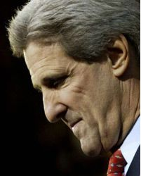 John Kerry. Photograph: AFP