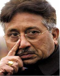 Pervez Musharraf. Photograph: AFP