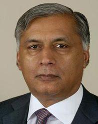 Shaukat Aziz. Photograph: AFP
