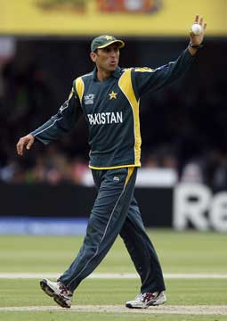 Younus Khan during the T20 Championships in 2009