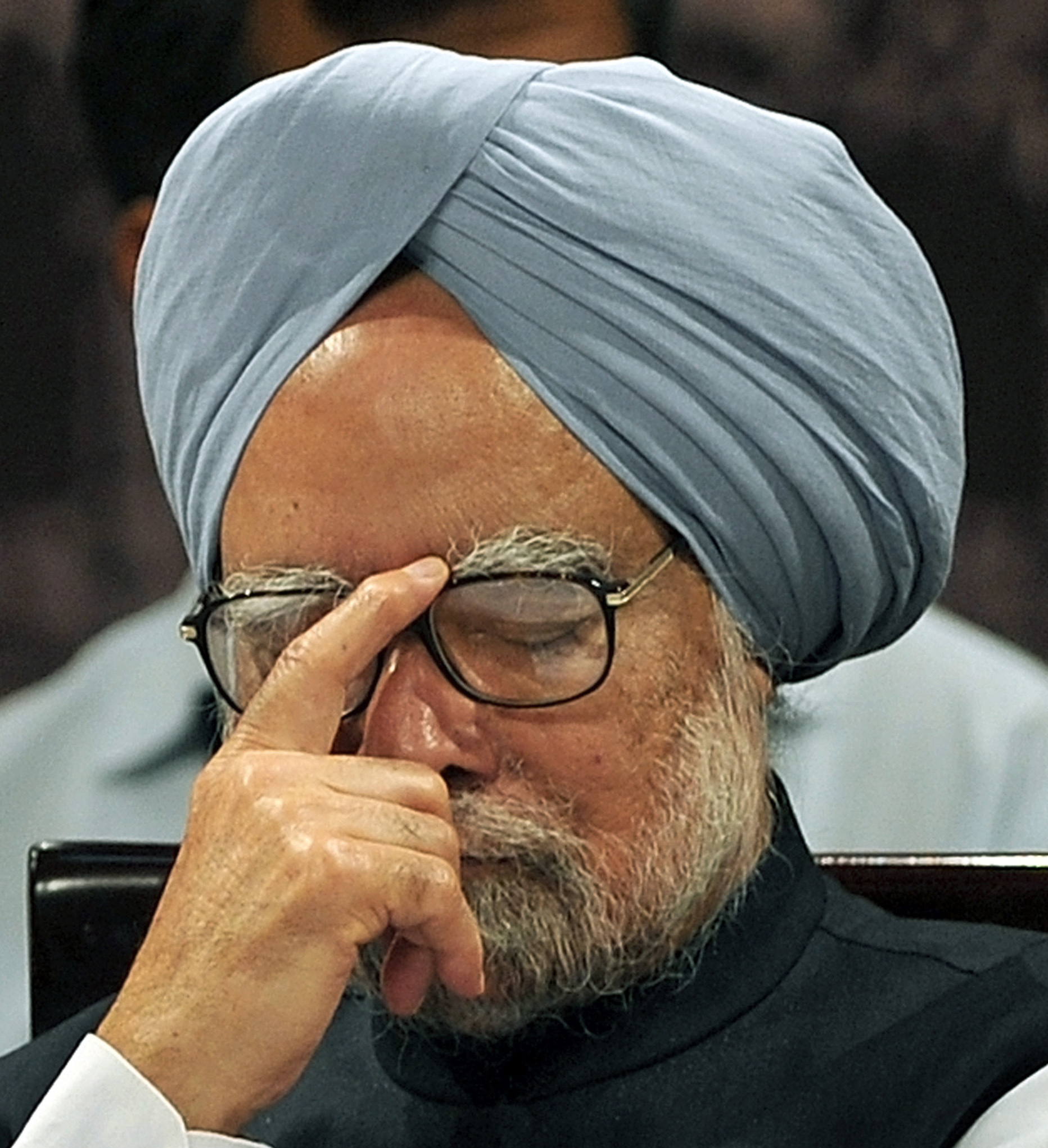 Manmohan Singh: Tempers running high.