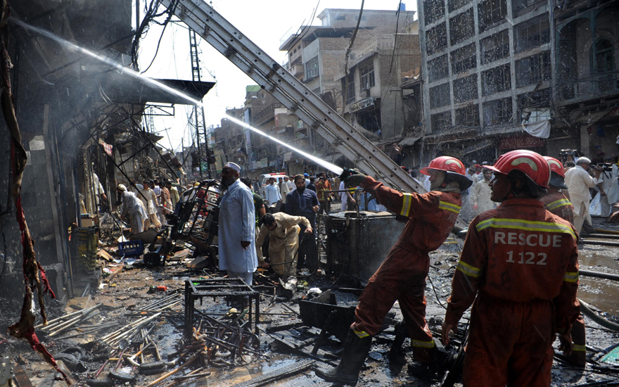 PAKISTAN-UNREST-NORTHWEST-BLAST