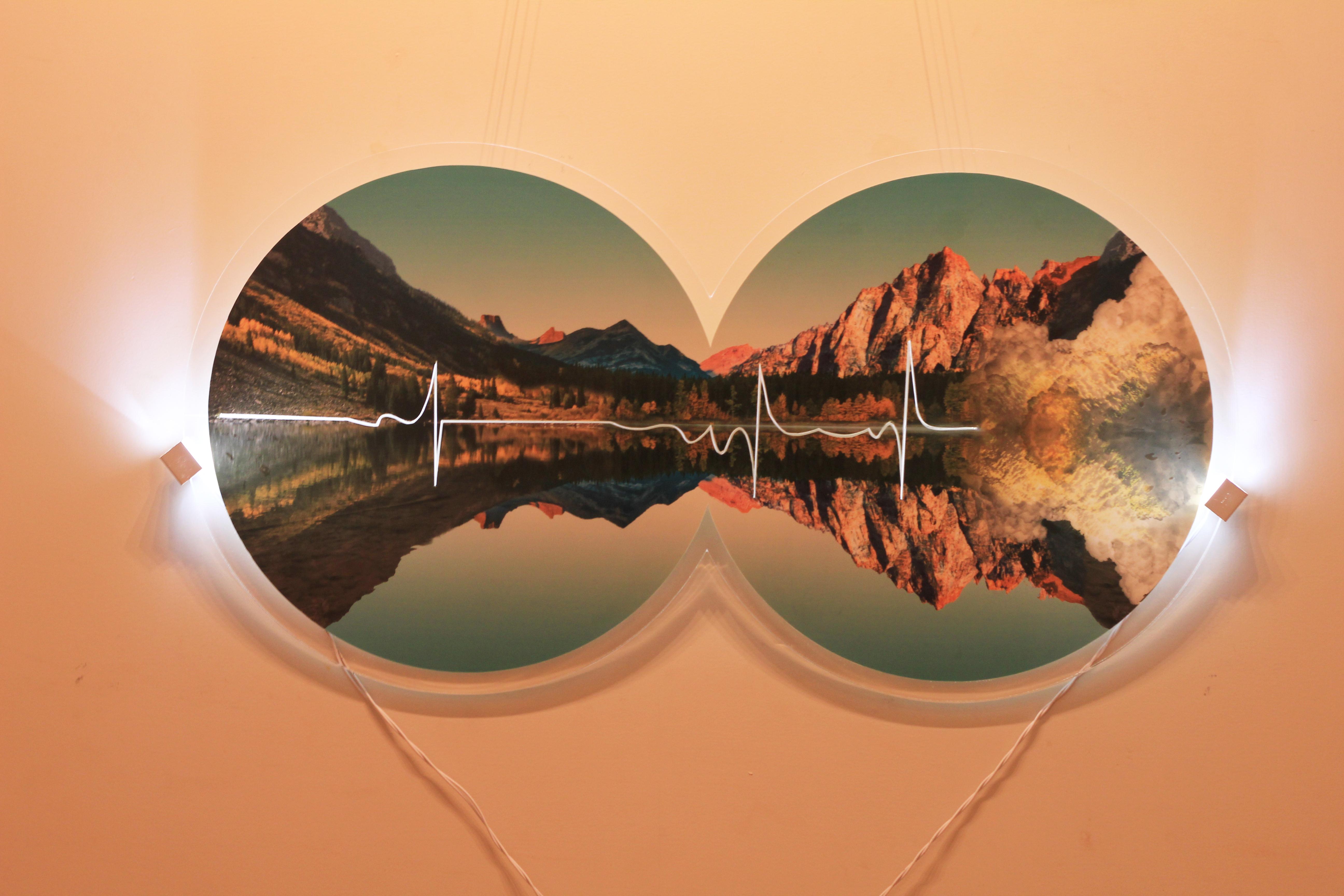 14. Aamir Habib - Highway to Heaven - Photo Print, Acrylic,