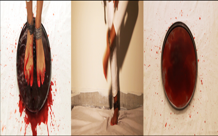 B positive-Yves Klein Red video still