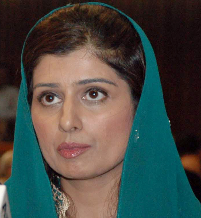 This handout picture released by the Associated Press of Pakistan (APP) shows Pakistani State Minister for Finance Hina Rabbani Khar presenting the 2009-2010 national budget at the parliament in Islamabad on June 13, 2009. Pakistan unveiled a deficit national budget 2009-2010 on June 13, proposing an increase in defence expenditure to help fight Taliban militants while boosting agriculture and industrial output and reducing poverty. RESTRICTED TO EDITORIAL USE GETTY OUT AFP PHOTO/HO/ASSOCIATED PRESS OF PAKISTAN