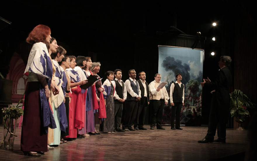french opera troupe and KVE