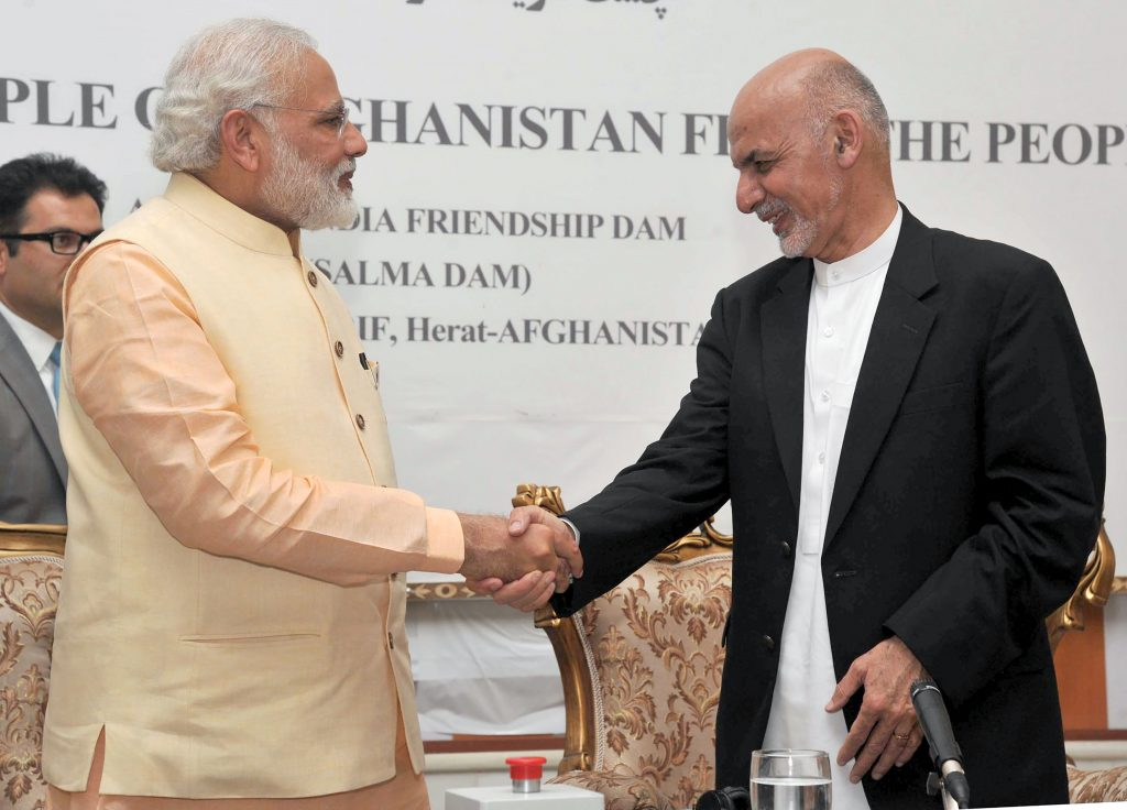 AFGHANISTAN-INDIA-DIPLOMACY