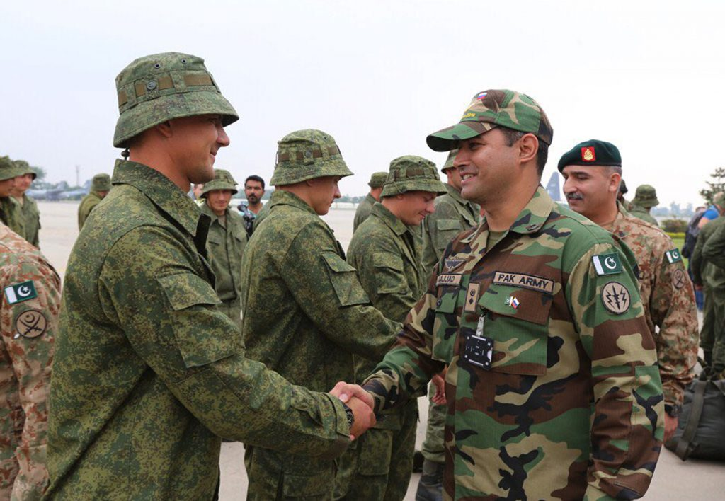 PAKISTAN-RUSSIA-DEFENCE-EXERCISE