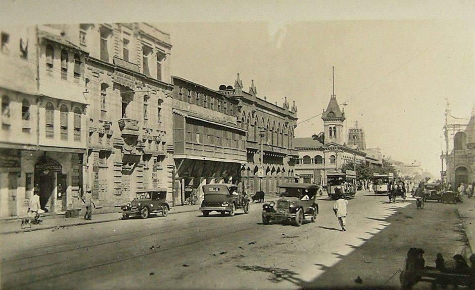 1920s View of Bunder Road, Karachi