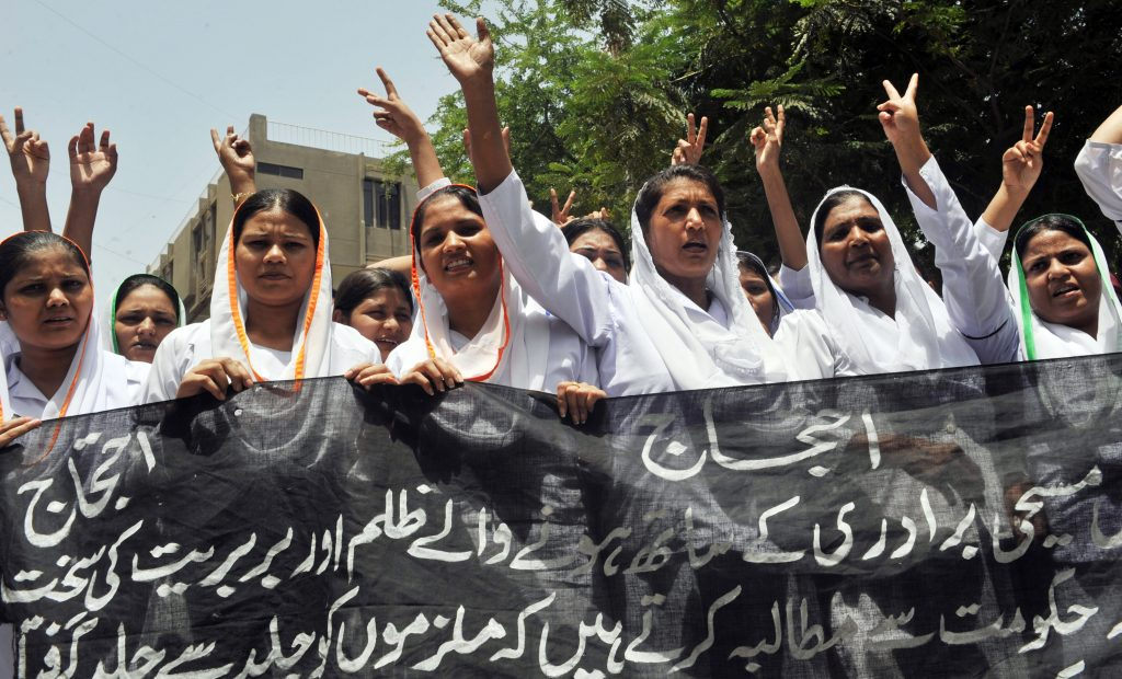 PAKISTAN-UNREST-RELIGION-PROTEST