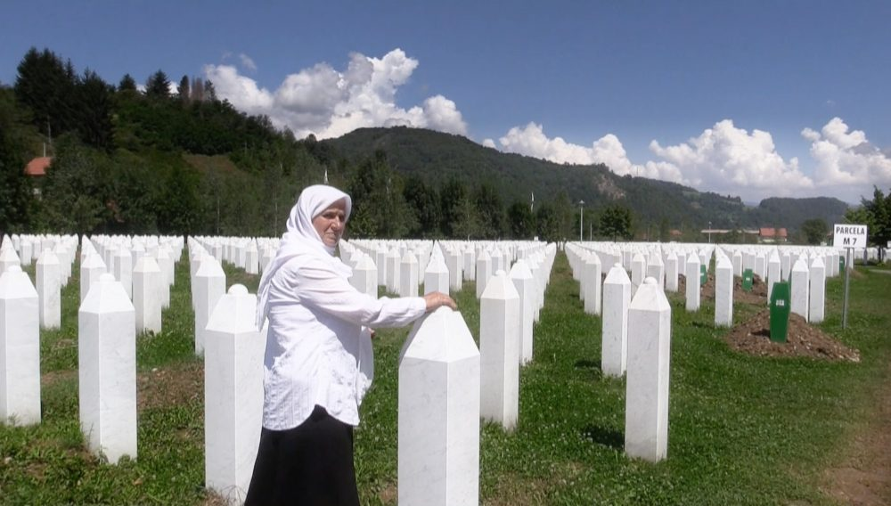 hatidza-mehmedovic-who-lost-her-husband-sons-and-brothers-in-the-srebrenica-genocide-in-the-srebrenica-genocide-memorial-bosnia-herzegovina
