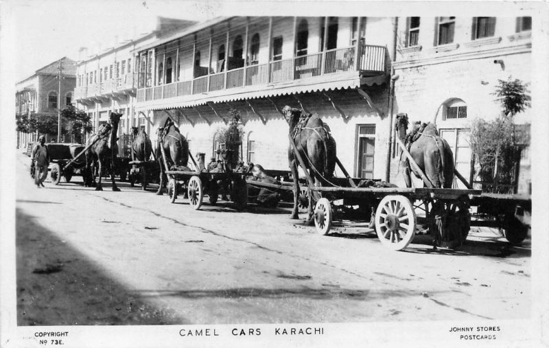 History In Photos Karachi Streets Newsline